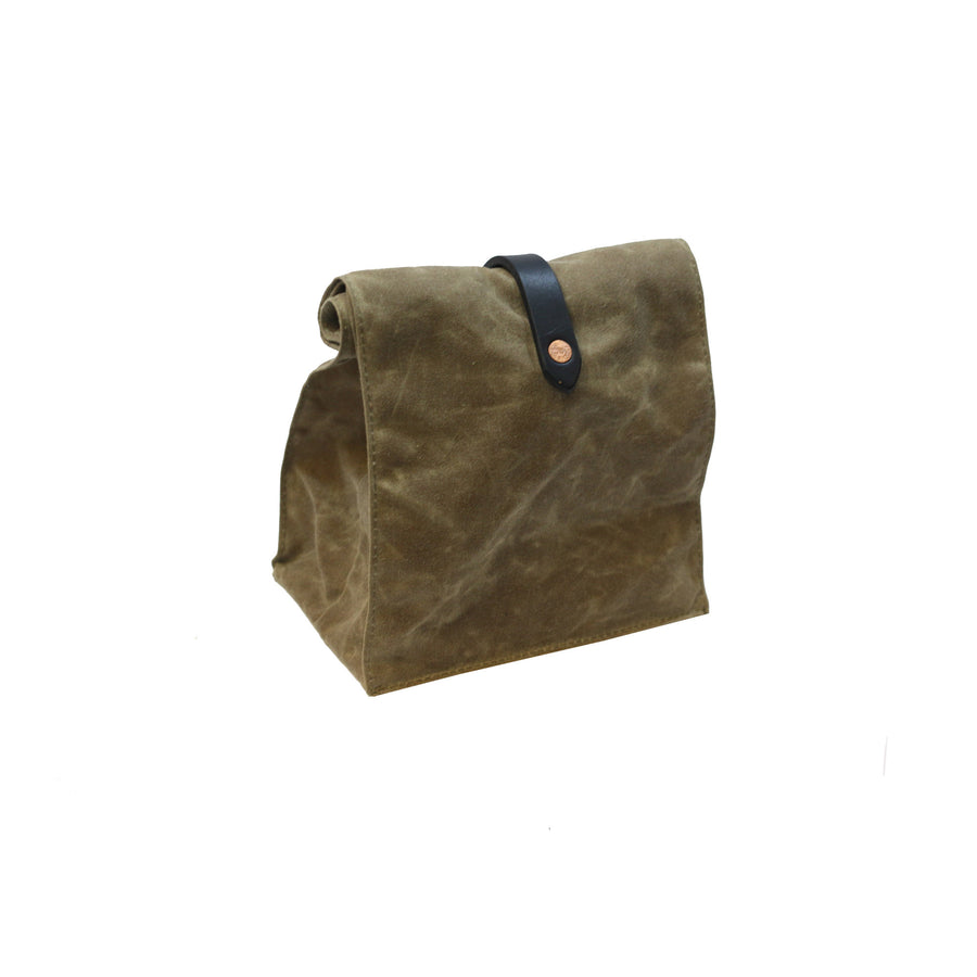 Lunch Tote - Waxed Canvas - Field Tan