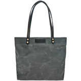 Market Tote - Waxed Canvas - Charcoal