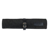 Tool Roll - Waxed Denim - Black
