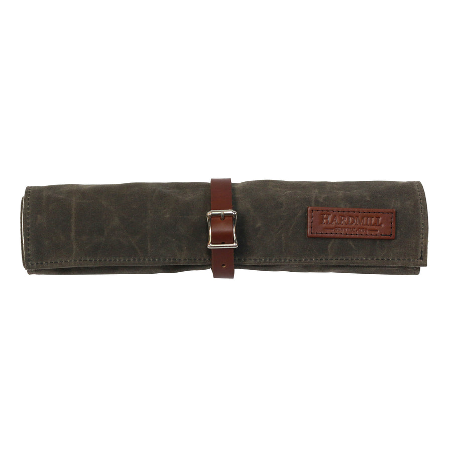 Tool Roll - Waxed Canvas - Dark Oak