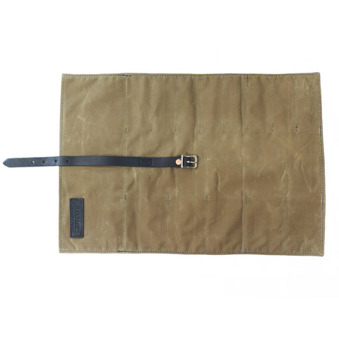 Tool Roll - Waxed Canvas - Field Tan