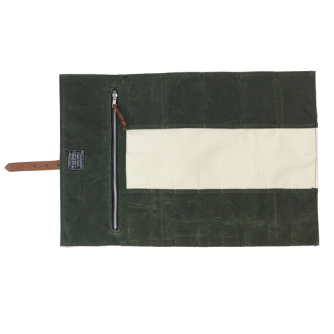 Tool Roll - Waxed Canvas - Olive