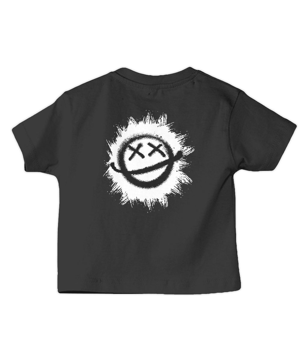 Smiley Spray Baby T Shirt