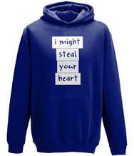 Load image into Gallery viewer, I might steal your heart Kids Hoodie