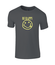 Load image into Gallery viewer, Be Happy Kids T-Shirt