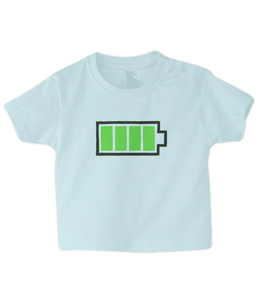 Full Battery Baby T Shirt