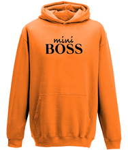 Load image into Gallery viewer, mini Boss Kids Hoodie
