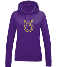 Load image into Gallery viewer, Be Happy Ladies Hoodie