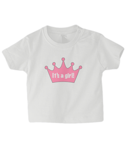 Crown girl Baby T Shirt