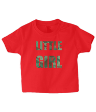 Load image into Gallery viewer, Little Girl Baby T Shirt