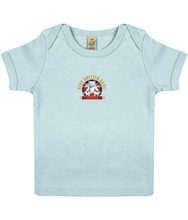 Load image into Gallery viewer, EPB01 Baby Lap T-shirt Very British Baby in ORGANIC Cotton