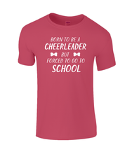 Load image into Gallery viewer, CIP: Born to be a Cheerleader Kids T-Shirt
