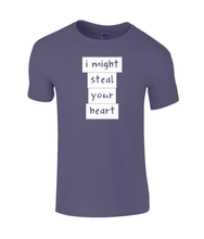 Load image into Gallery viewer, I might steal your heart Kids T-Shirt