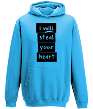 Load image into Gallery viewer, I will steal your heart Kids Hoodie