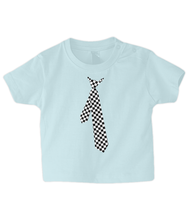 Load image into Gallery viewer, Shirt and Tie Baby T Shirt