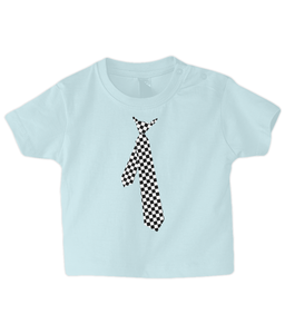 Shirt and Tie Baby T Shirt