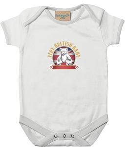 Larkwood Baby Bodysuit Very British Baby