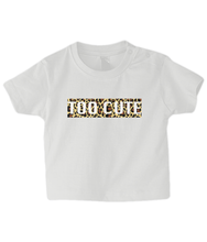 Load image into Gallery viewer, Too Cute Leopard Baby T Shirt