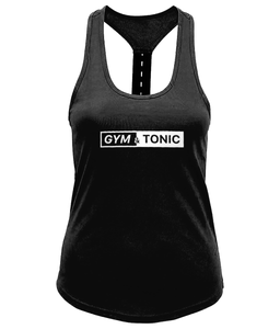 Gym & Tonic Ladies Performance Strap Back Gym Vest