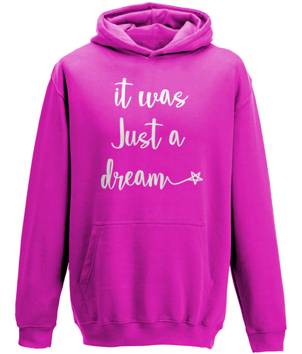 It was just a dream Kids Hoodie
