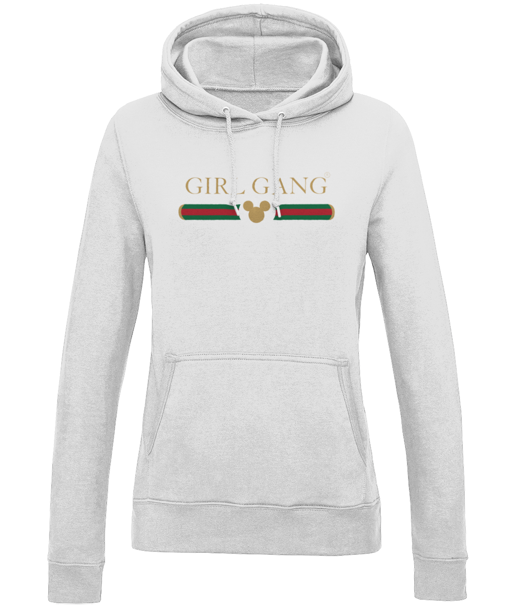 Girl Gang Ladies Hoodie