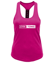 Load image into Gallery viewer, Gym & Tonic Ladies Performance Strap Back Gym Vest