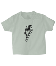 Load image into Gallery viewer, Zebra Bolt Baby T Shirt