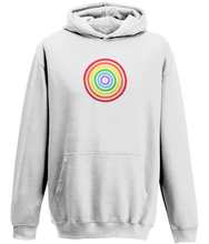 Load image into Gallery viewer, Rainbow Circle Kids Hoodie