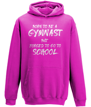 Load image into Gallery viewer, CIP: Born to be a Gymnast Kids Hoodie