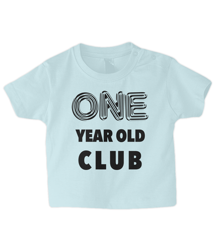 One year Baby T Shirt