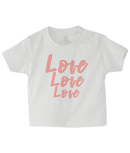 Load image into Gallery viewer, Love 3x Baby T Shirt