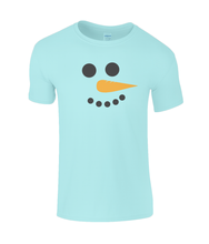 Load image into Gallery viewer, Snowman Kids T-Shirt
