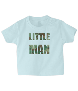 Little Man Baby T Shirt