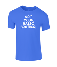 Load image into Gallery viewer, Not Basic Brother Kids T-Shirt