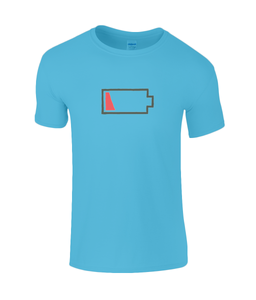 Low Battery Kids T-Shirt