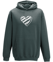 Load image into Gallery viewer, Heart Kids Hoodie