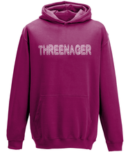 Load image into Gallery viewer, Threenager Kids Hoodie