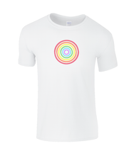 Load image into Gallery viewer, Rainbow Circle Kids T-Shirt