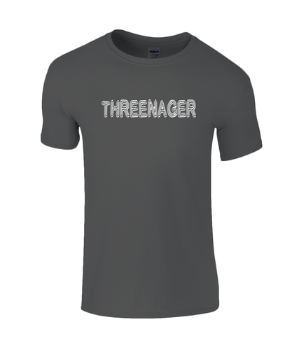 Threenager Kids T-Shirt