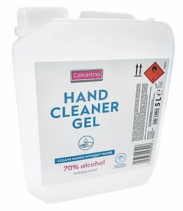 Hand Sanitising Gel 5L with 70% Alcohol