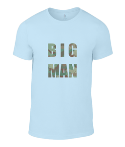 Big Man Mens T-Shirt