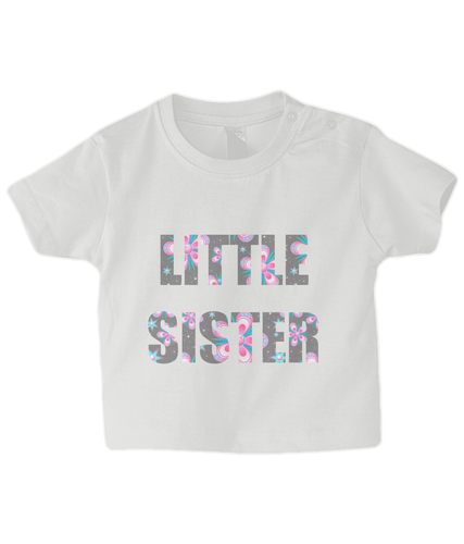 Little Sister Baby T-Shirt
