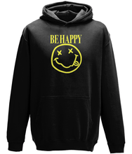 Load image into Gallery viewer, Be Happy Kids Hoodie