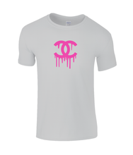 Load image into Gallery viewer, CC pink Kids T-Shirt