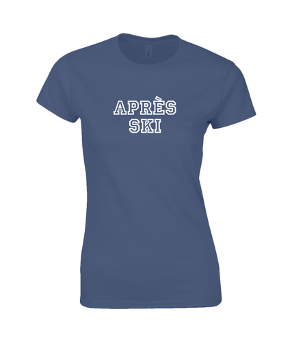 Apres Ski Ladies Fitted T-Shirt