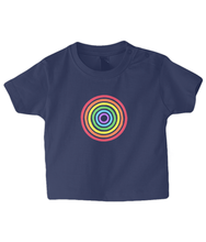 Load image into Gallery viewer, Rainbow Circle Baby T Shirt