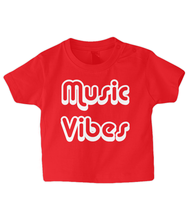 Load image into Gallery viewer, Music Vibes Baby T Shirt