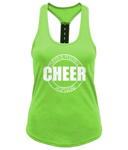 Load image into Gallery viewer, CIP: Cheer Ladies Performance Strap Back Gym Vest