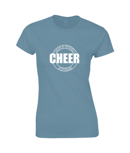 CIP: Cheer Ladies Fitted T-Shirt