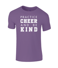 Load image into Gallery viewer, CIP: Cheer and be Kind Kids T-Shirt